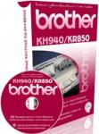 Работа на машине BROTHER KH-940/KR-850